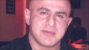 Victim Bahman Faraji
