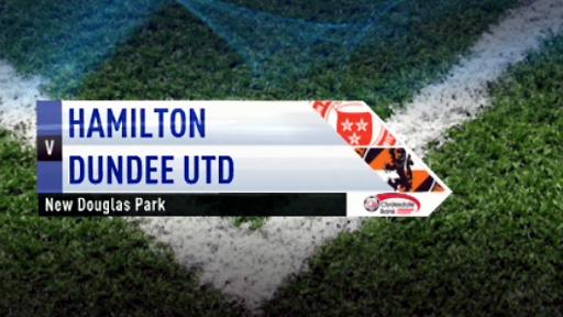 Hamilton v Dundee Utd