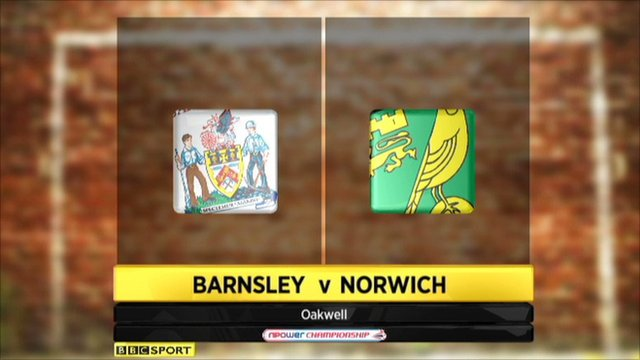 Highlights - Barnsley 0-2 Norwich