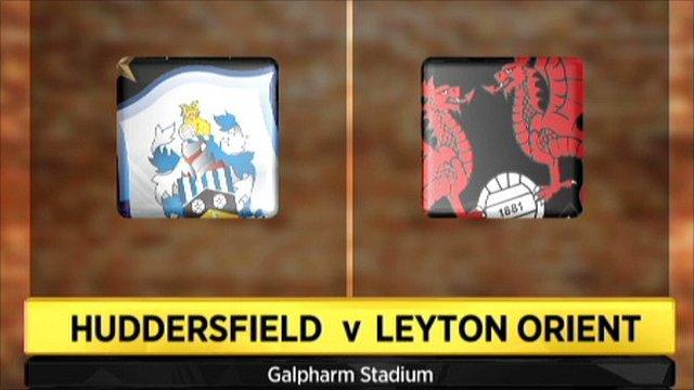 Highlights - Huddersfield 2-2 Leyton Orient