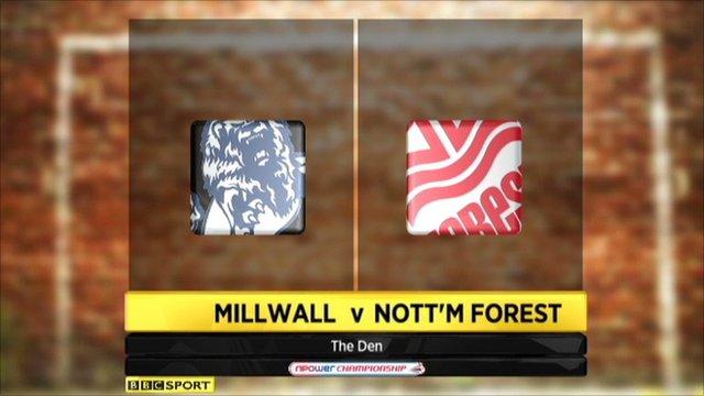 Highlights - Millwall 0-0 Nottingham Forest