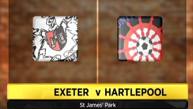 Highlights - Exeter 1-2 Hartlepool
