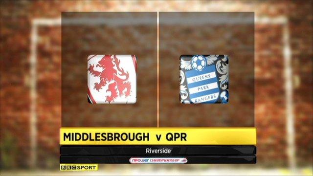 Highlights - Middlesbrough 0-3 QPR