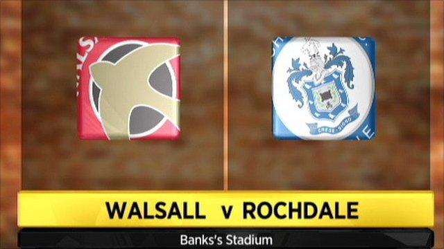 Highlights - Walsall 0-0 Rochdale