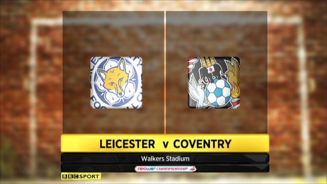 Highlights - Leicester 1-1 Coventry