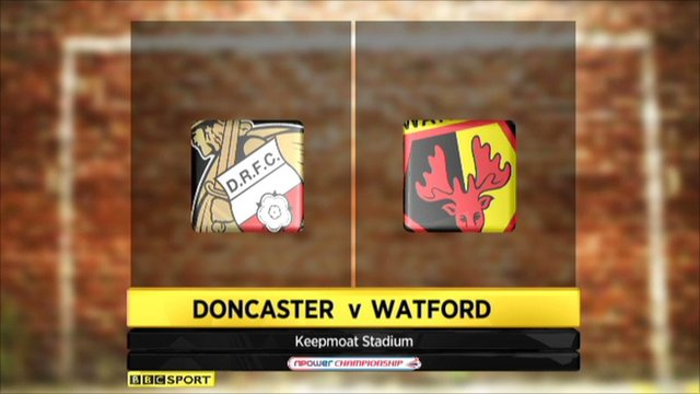 Highlights - Doncaster 1-1 Watford