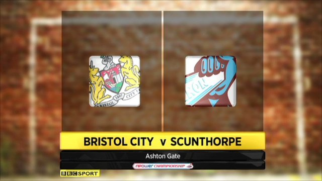 Highlights - Bristol City 2-0 Scunthorpe