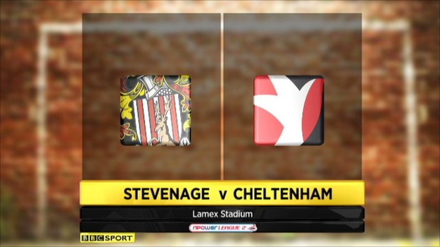 Highlights - Stevenage 4-0 Cheltenham