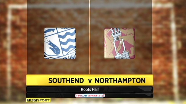 Highlights - Southend 1-1 Northampton