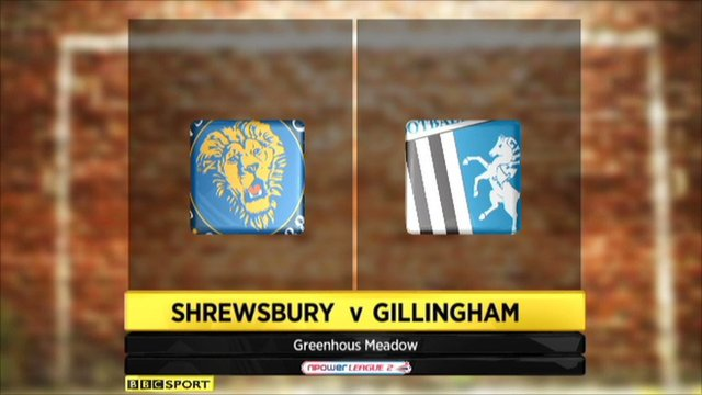 Highlights - Shrewsbury 0-0 Gillingham