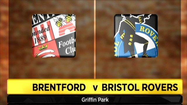 Brentford v Bristol Rovers