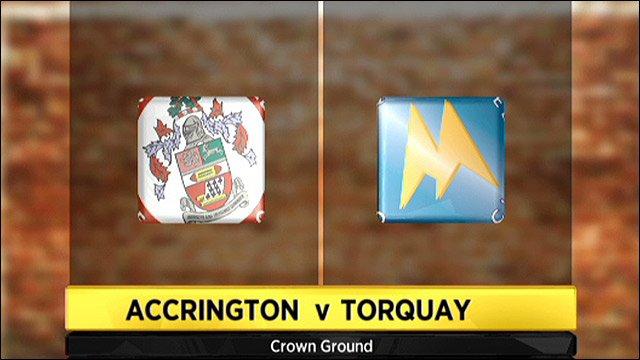 Accrington v Torquay