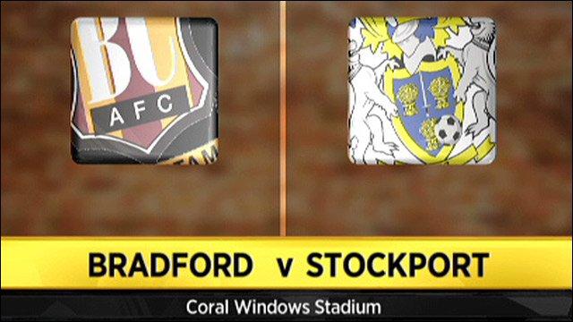 Bradford v Stockport
