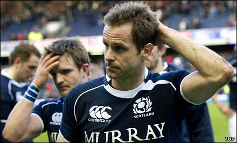 Chris Paterson cannot believe Scotland have lost