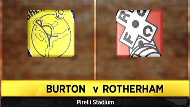Burton v Rotherham