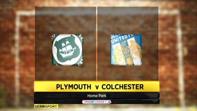 Plymouth 2-1 Colchester