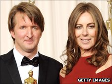 Tom Hooper and Kathryn Bigelow