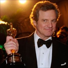 Colin Firth at the Oscars