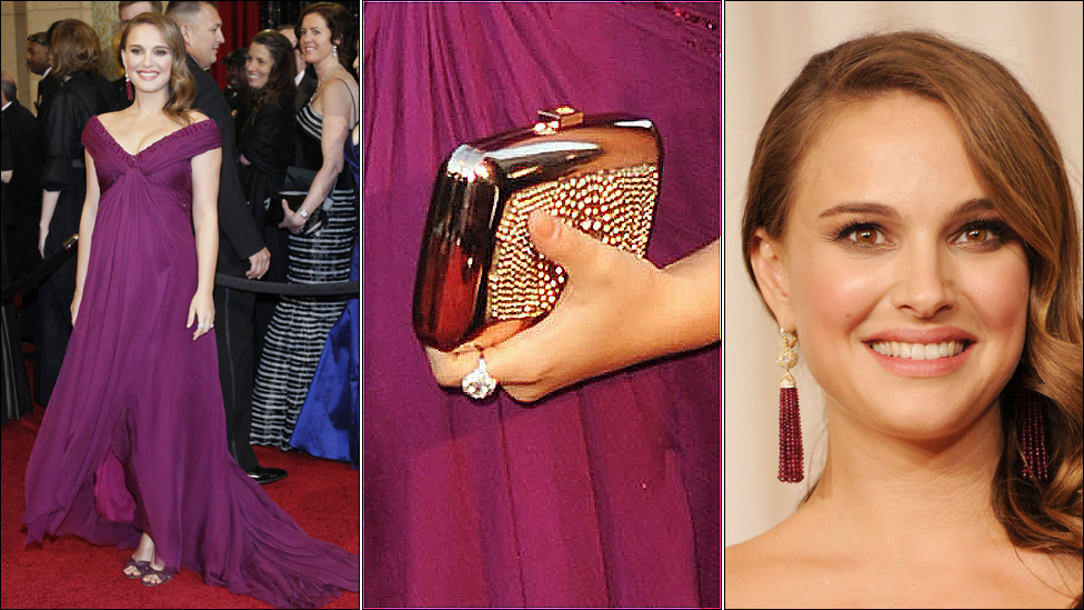 Natalie Portman And Finance 2011. Oscars 2011: Backstage with
