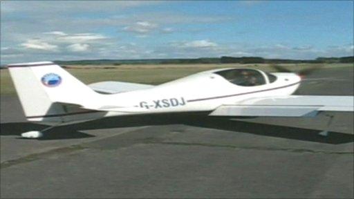David Joyce's plane