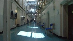 interior of prison