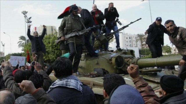 Unrest in Libya