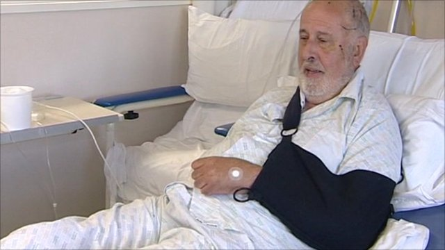 Peter Symms, a survivor of the NZ earthquake