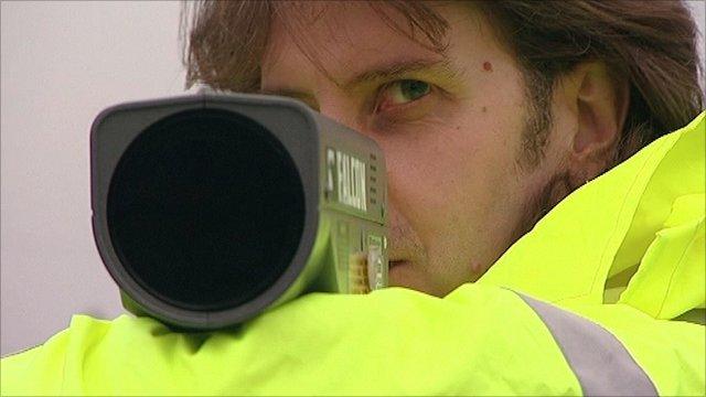 Mike Sumner, Finedon Speedwatch