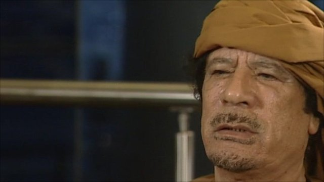 Colonel Gaddafi has told the BBC that he feels betrayed by Western leaders who are calling for him to step down.