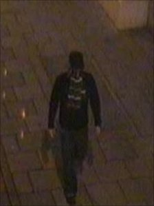 CCTV image from Alan Wood murder investigation