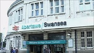 Swansea railway station