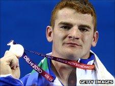 GB weight lifter Peter Kirkbride