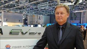 Henrik Fisker, chief executive, Fisker Automotive