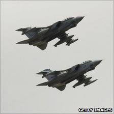 Tornados at RAF Marham
