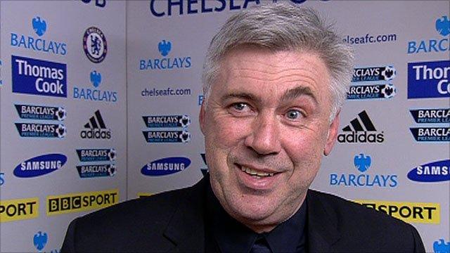 Chelsea's Carlo Ancelotti