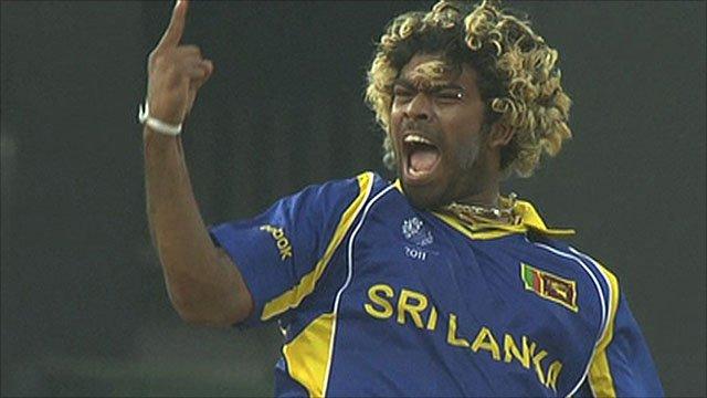 Sri Lanka's Lasith Malinga