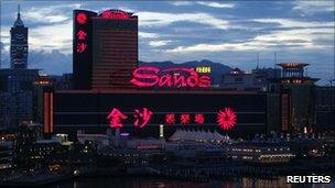 Sands casino in Macau
