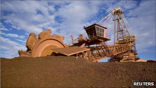 Australian mine in Port Hedland