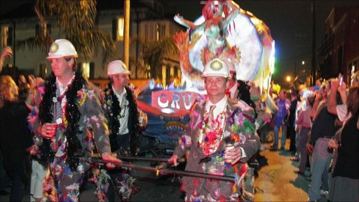 Mardi Gras Season in New Orleans