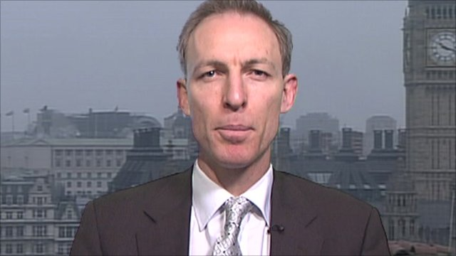 Shadow Defence Secretary, Jim Murphy