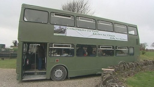 Nigel Twiston-Davies doubledecker bus