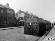 Bomb damage in Armley