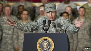 Gen David Petraeus, Afghanistan, file pic December 2010