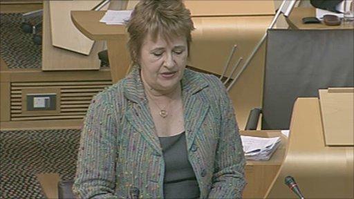 Environment Minister Roseanna Cunnigham