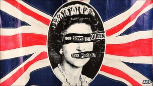 God Save the Queen print