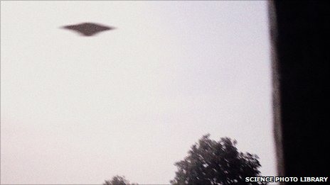 BBC Covering the National Archives UFO files release 03 March 2011