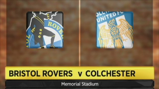 Bristol Rovers 0-1 Colchester
