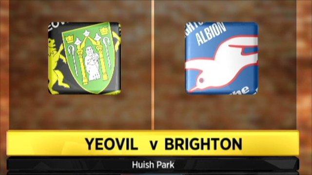 Yeovil 0-1 Brighton