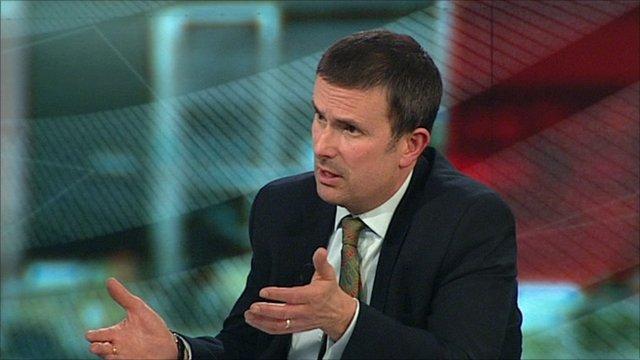 The BBC's business editor Robert Peston