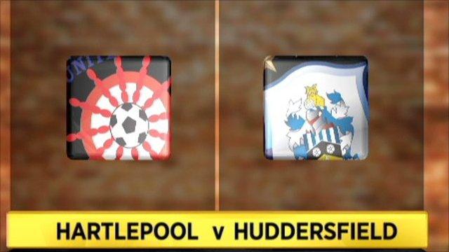 Hartlepool 0-1 Huddersfield